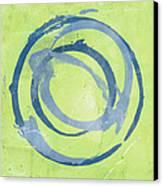 Green Blue Canvas Print by Julie Niemela