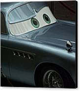 Green Eyed Finn Mcmissile Canvas Print by Thomas Woolworth