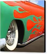Green Flames Canvas Print by Mike McGlothlen