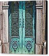 Green Patina Canvas Print by Marcia Lee Jones