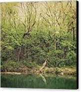 Green Waters  Canvas Print by Kiara Reynolds