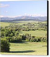 Greenland Ranch Canvas Print by Eric Glaser