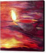 Greeting Card- 5 Canvas Print