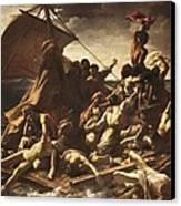 G�ricault, Th�odore 1791-1824. The Raft Canvas Print
