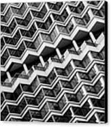 Grid Lines Canvas Print