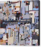 Gridlock Canvas Print by Regina Valluzzi