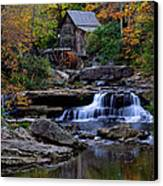 Grist Mill Falls Canvas Print by Lone Dakota Photography