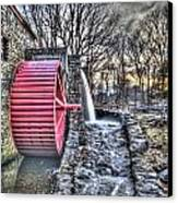 Grist Mill Sudbury Canvas Print by Adam Green