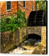 Grist Mill Canvas Print by Thomas Woolworth