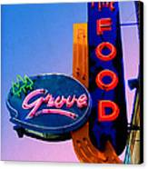 Grove Fine Food Canvas Print