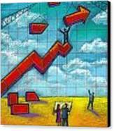 Growth Canvas Print by Leon Zernitsky