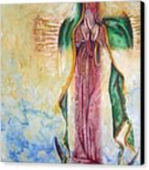 Guadalupana Canvas Print by Karina Llergo