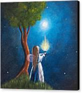 Guardian Of Light By Shawna Erback Canvas Print