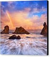 Guardians Of The Sea Canvas Print by Darren  White