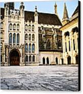 Guildhall Building And Art Gallery Canvas Print by Elena Elisseeva