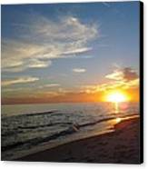 Gulf Shores Alabama Sunset2 Canvas Print by LCS Art
