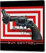 Gun Control Canvas Print by Mike McGlothlen