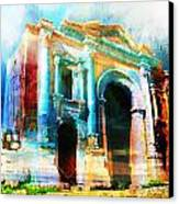 Hadrians Arch Canvas Print