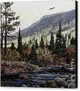 Hagerman Peak Canvas Print by W  Scott Fenton