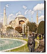 Hagia Sophia Editorial Canvas Print by Antony McAulay