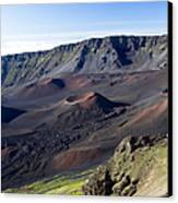 Haleakala Sunrise On The Summit Maui Hawaii - Kalahaku Overlook Canvas Print by Sharon Mau