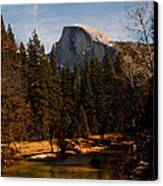 Half Dome Spring Canvas Print by Bill Gallagher