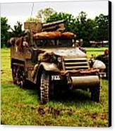 Half- Track Canvas Print by Jame Hayes