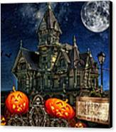 Halloween Spot Canvas Print by Mo T