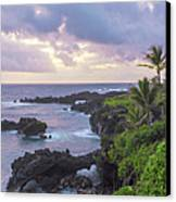 Hana Arches Sunrise 3 - Maui Hawaii Canvas Print