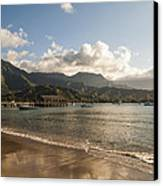 Hanalei Bay Pier - Kauai Hawaii Canvas Print