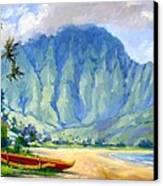 Hanalei Style Canvas Print by Jenifer Prince