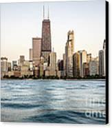 Hancock Building And Chicago Skyline Canvas Print