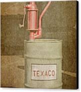 Hand-crank Oil Pump Canvas Print