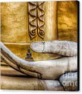 Hand Of Buddha Canvas Print