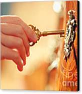 Hand With Key Canvas Print by Konstantin Sutyagin