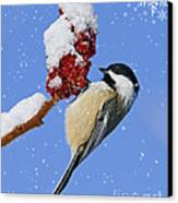 Happy Holidays... Canvas Print by Nina Stavlund