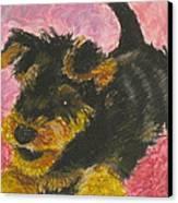 Happy Canvas Print by Jeanne Fischer