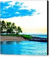 Harbor View Ko Olina  Canvas Print