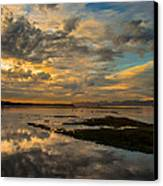 Harbour  Sunset Canvas Print by Rod Sterling