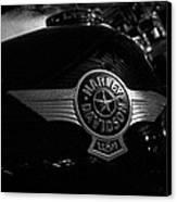 Harley Davidson Usa Canvas Print