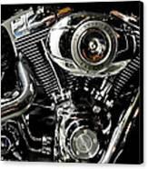 Harley Canvas Print by Joe Bonita