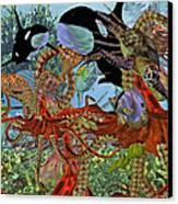 Harmony Under The Sea Canvas Print
