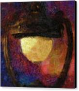 Harp Lamp Canvas Print by Jack Zulli