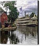 Harpers Mill Canvas Print by Wayne Gill