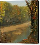 Harpeth At Carnton Canvas Print by Tommy Thompson