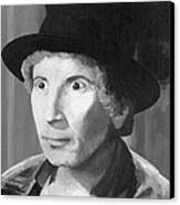 Harpo Marx Canvas Print by Peggy Dreher