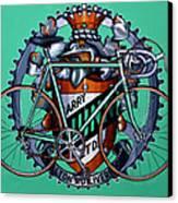 Harry Quinn Canvas Print by Mark Howard Jones