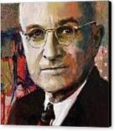 Harry S. Truman Canvas Print
