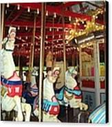 Hartford Carousel Canvas Print