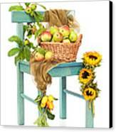 Harvest Fayre Canvas Print by Amanda Elwell